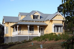 australian-cottage-home-design-yellow-300x199 Dormer House Roof Designs on building a dormer on an existing roof, adding a dormer to an existing roof, gambrel roof,